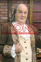 Ben Franklin Lookalike and Impersonator