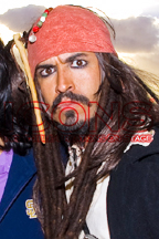 Captain Jack Sparrow Lookalike and Impersonator